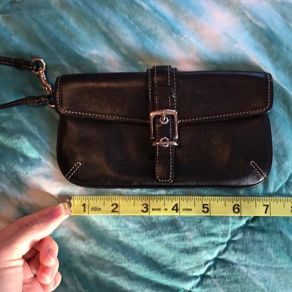 Coach Accessories - Coach wristlet black